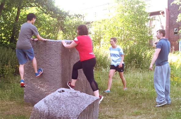 Parkour ZV wall